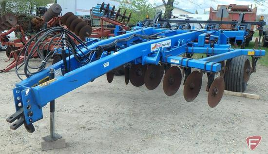 DMI Ecolo-Tiger 530 5-shank ripper, hydraulic lift disc front and back