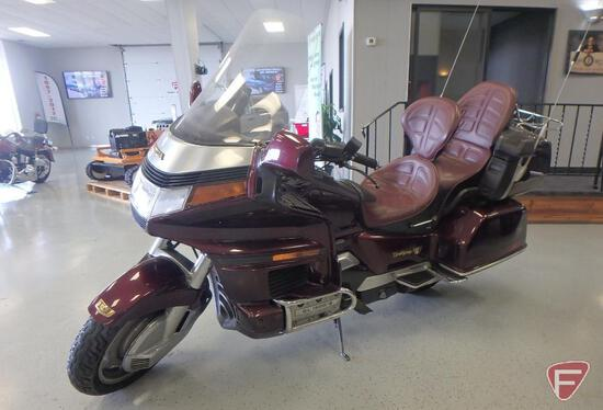 1989 Honda GL1500 Gold Wing Motorcycle