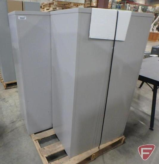 (2) 4-Drawer filing cabinets