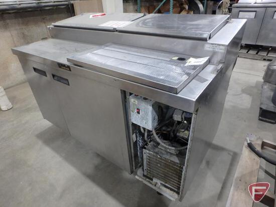 Delfield custom 2 door commercial refrigerator/freezer, model 000-20160PTC