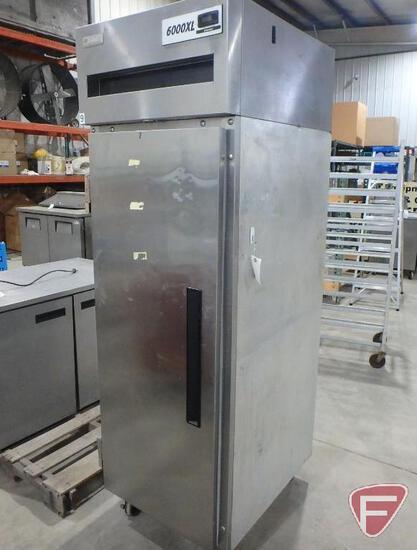 Delfield 1 door upright freezer, model 6000XL, R-404A