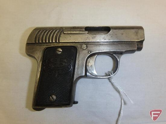 Spanish Destructor .25ACP semi-automatic pistol