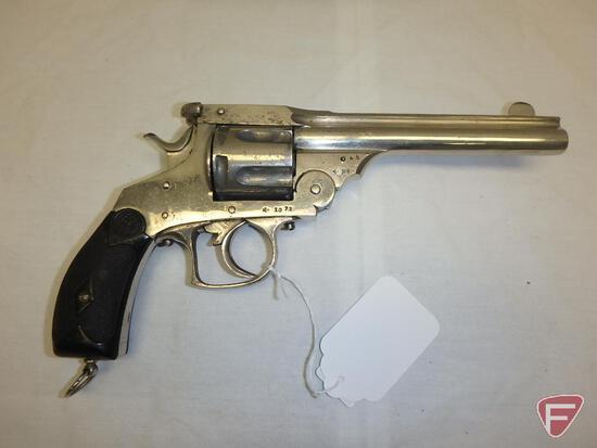 Belgian .44-40 top break double action revolver