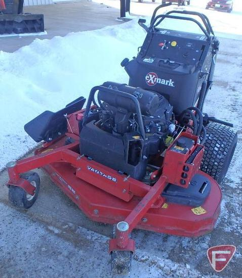 """ExMark stand-on mower with 52"""" out front rotary deck, 918hrs"""