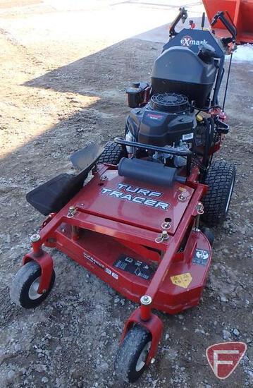 "Exmark S-Series Turf Tracer walk-behind zero-turn 36"" rotary mower, only 15 hours!"