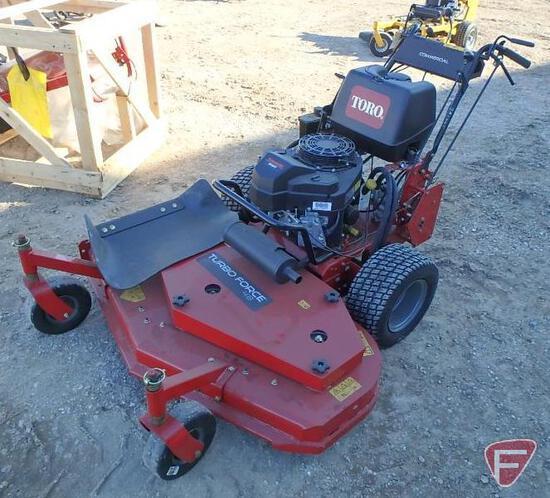 "Toro Turbo Force 48 Commercial zero-turn walk-behind 48"" rotary mower, no hour meter"