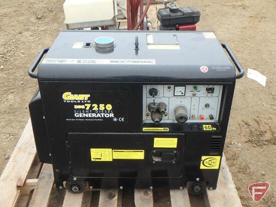 Giant Tool LTD diesel generator, sn DS67250