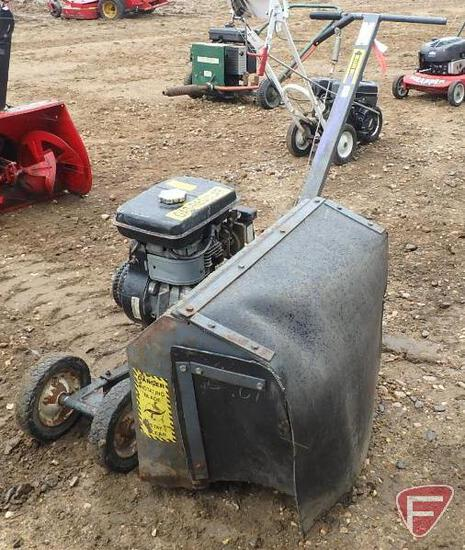 Brown MFG Corp model F-702 bed edger, sn 1801