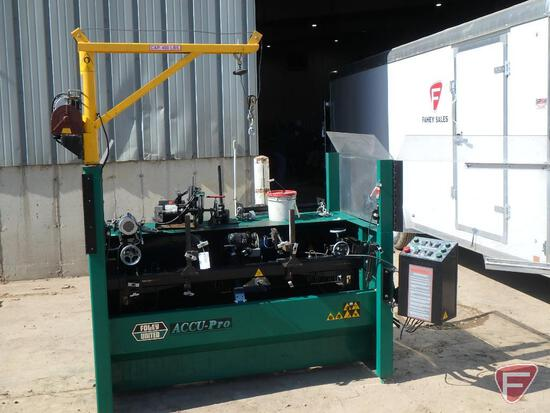 2000 Foley United Accu Pro 630 spin/relief electric reel grinder, sn 00E63001450