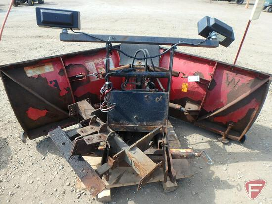 """Boss v-plow, 8' 2"""" Power V with truck brackets and controls"""