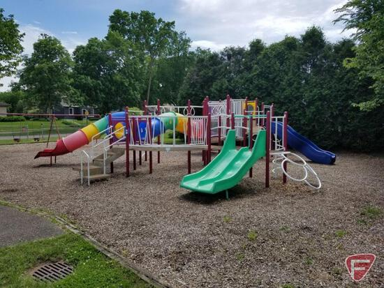 Complete Playground System by Game Time Located in Robbinsdale, MN.