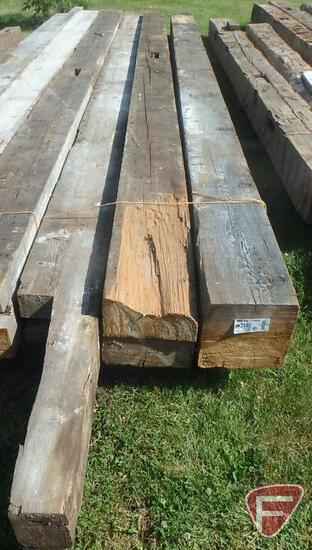 (3) Fir beams, 10x10, all are 17'