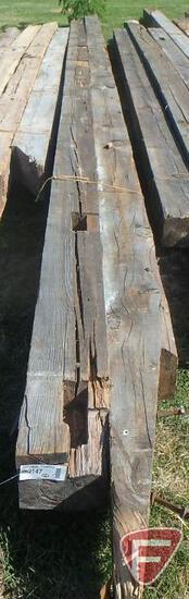 (2) Fir beams, 8x8, longest is 25'
