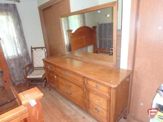 """Dresser/cabinet with mirror 70""""w x 20""""d x 33""""h without mirror"""