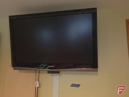 """Sharp Aquos TV, no remote, 42"""""""