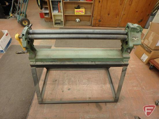 Peck, Stow & Wilcox Co. Pexto 381-D roller, 22 ga capacity soft steel