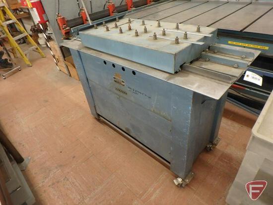 Lockformer snap lock with cleatformer machine, 22 ga capacity