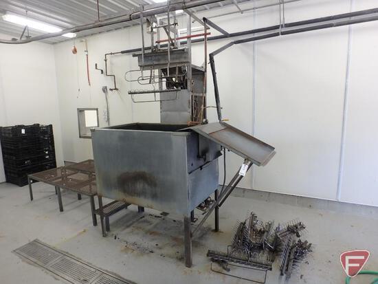 Chicken scalding machine, 115V
