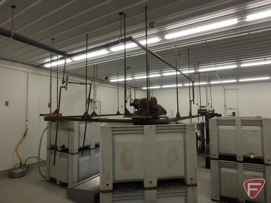 Chicken processing line