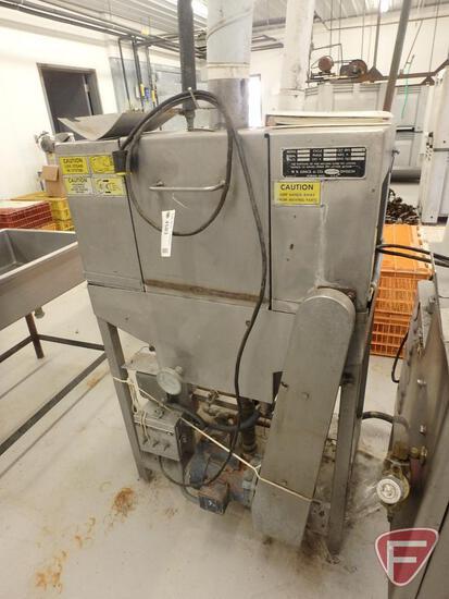 Hot water/steam shrink tunnel, model 3072C, 115V