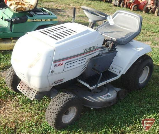 White MTD LT145 riding mower