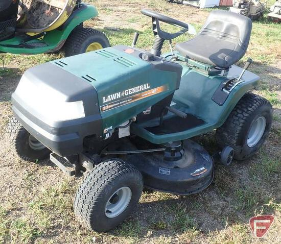 "Lawn General 17-42 42"" riding mower"