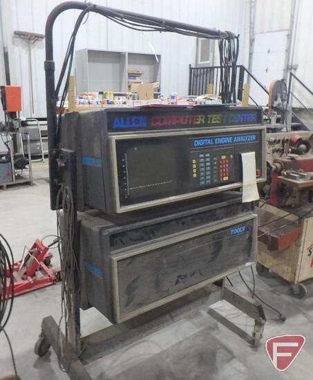 Allen computer test center, engine analyzer