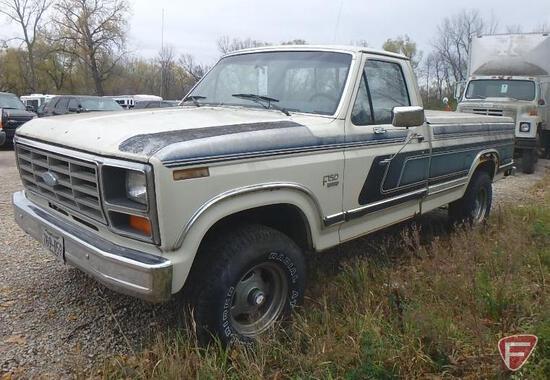 1986 Ford F-150 XLT Pickup Truck