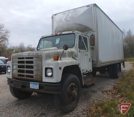 1979 International Box Truck