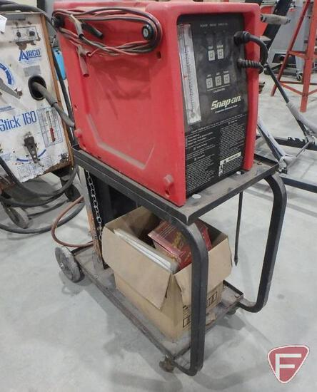 Snap-On Evaporative Emission Tester, with cart and nitrogen tank