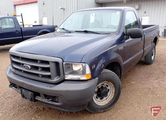 2002 Ford F-250 Pickup Truck - HAUL ONLY