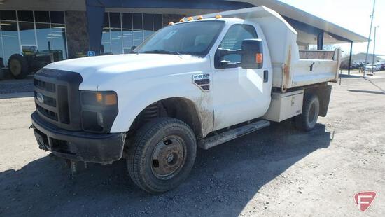 2009 Ford F-350 4x4 Dump Truck