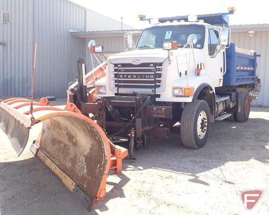 2005 Sterling LT8500 Truck with Falls plow and sander