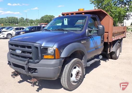 2007 Ford F-450 Pickup Truck-HAUL ONLY