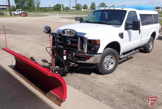 2010 Ford F-250 4x4 Pickup Truck with Boss plow