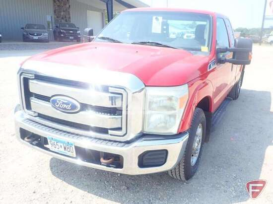 2011 FORD F-250XLT SD EXTENDED CAB 3/4 TON PICKUP VIN: 1FT7X2A60BEA31439