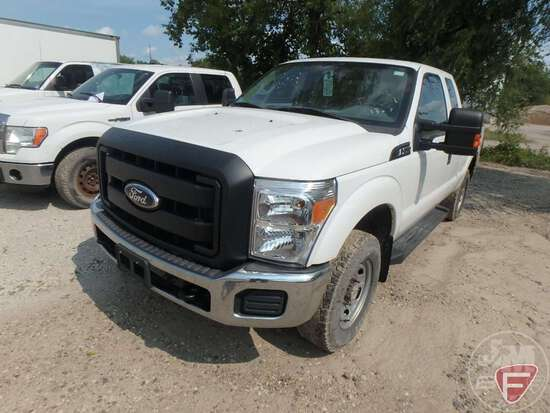 2011 FORD F-250 EXTENDED CAB 4X4 3/4 TON PICKUP VIN: 1FT7X2B67BEC21477