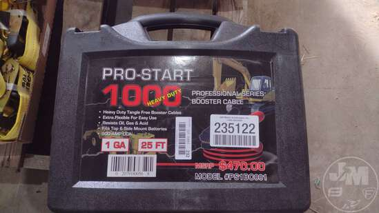 (UNUSED) PRO-START 1000 25'...... BOOSTER CABLES