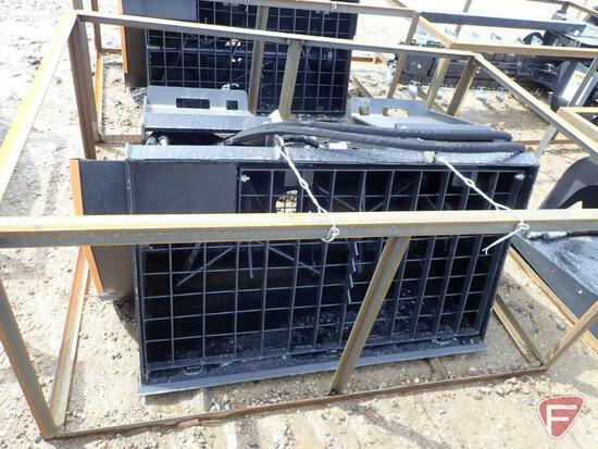 Unused Wolverine Concrete mixer skid loader attachment