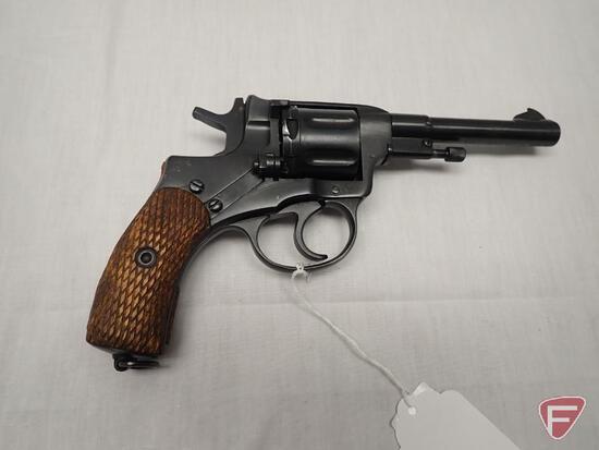 Nagant M1895 7.62x38R double action revolver
