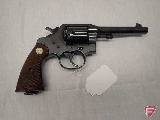 Colt US Army Model 1917 .45 Auto Rim double action revolver