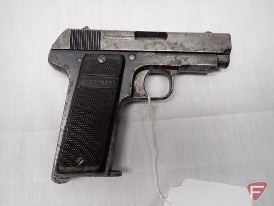 "Spanish Ruby 1914 ""Military"" 7.65mm semi-automatic pistol"