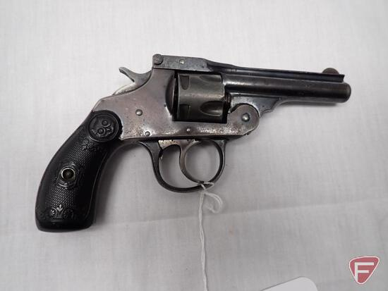 Iver Johnson 2nd Model Safety Automatic Hammer .32 centerfire double action revolver