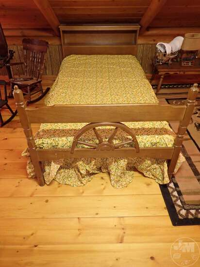 """(2) MATCHING BEDS 40""""W X 84""""L X 32""""H; THIS LOT"""