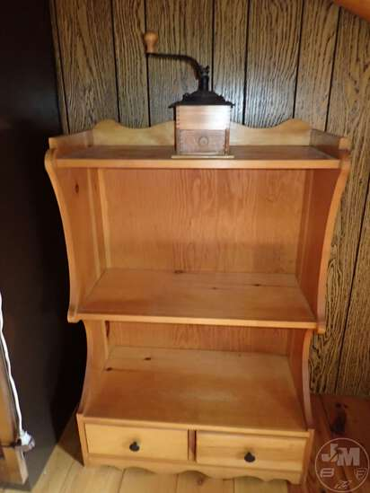 """BOOKSHELF WITH 2 DRAWERS 28""""W X 14""""D X 41:H, SPINNING"""