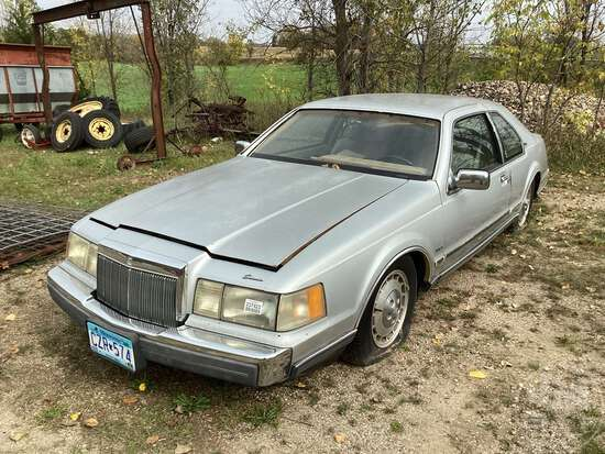 LINCOLN CONTINENTAL MARK VII LSC VIN: 1MRBP98L4EY738087 2WD COUPE