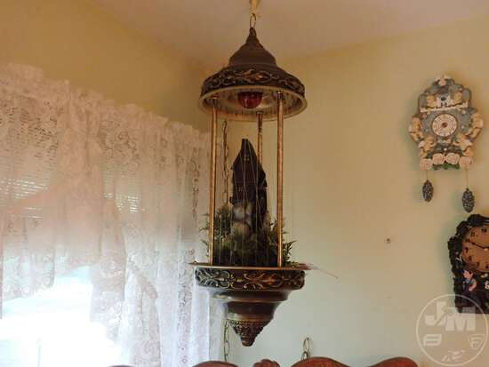 ELECTRIC HANGING OIL LAMP