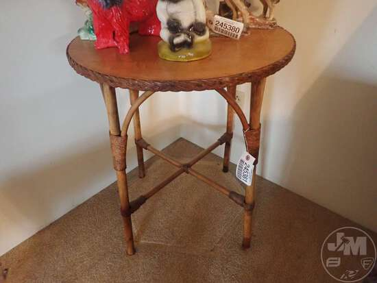 """SIDE TABLE, 24""""D X 28""""H"""