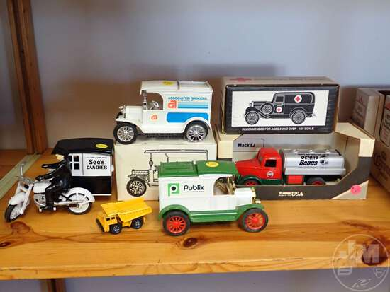 DIECAST ADVERTISING TOYS, BANKS