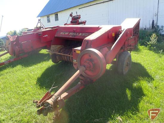 NEW HOLLAND 67 SMALL SQUARE BALER, WITH CHUTE, SN 22095